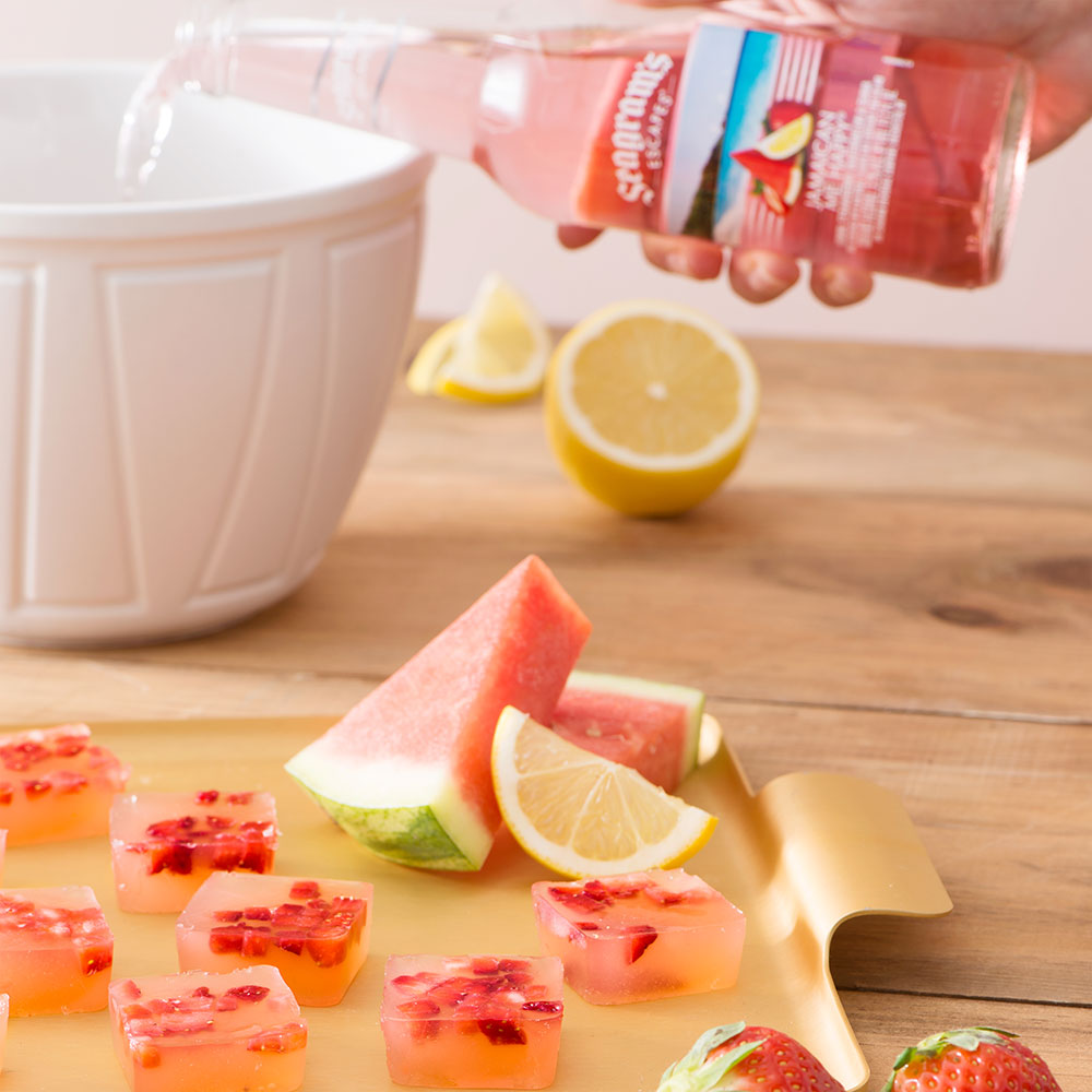 Strawberry Guava Jelly Shots Image