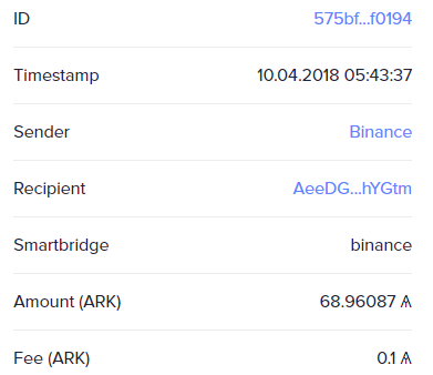 LATEST TRANSACTION Overview