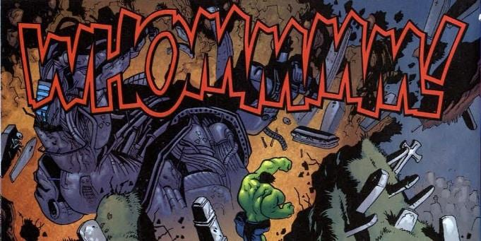 Hulk Escondido em Campo Aberto - Baú de HQs