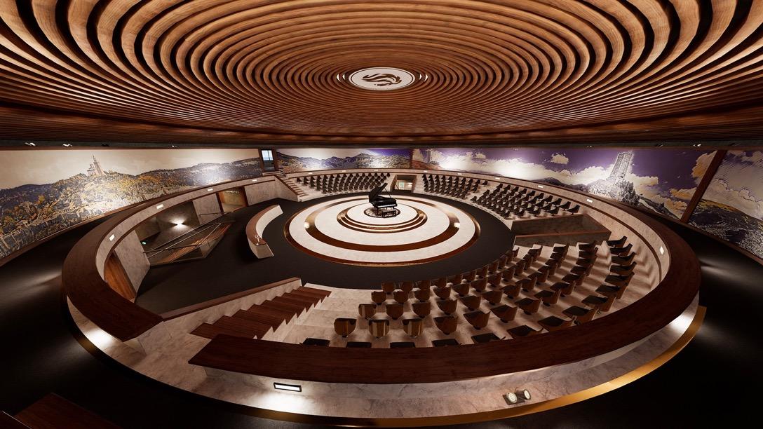 Concert hall - visualisation in VR