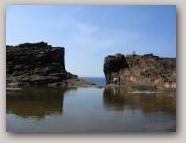 Grind o da Navir, Eshaness. Copyright Shetland Geotours  » Click to zoom ->
