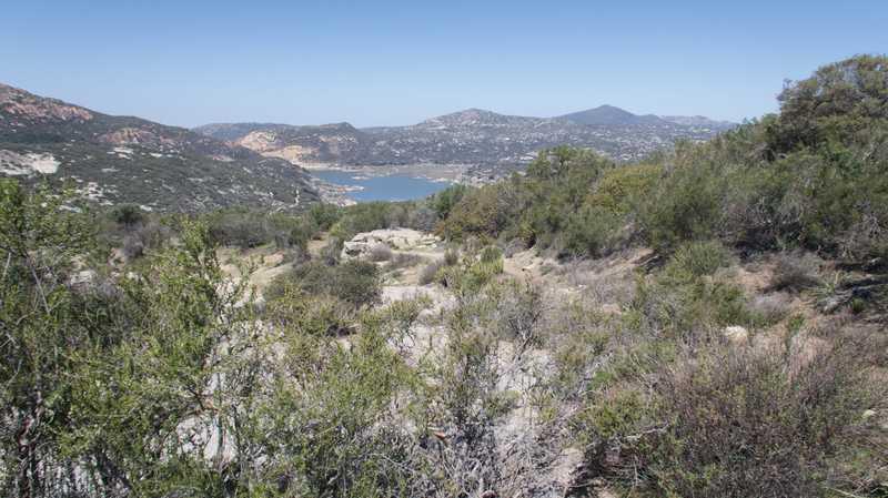 View of Lake Morena