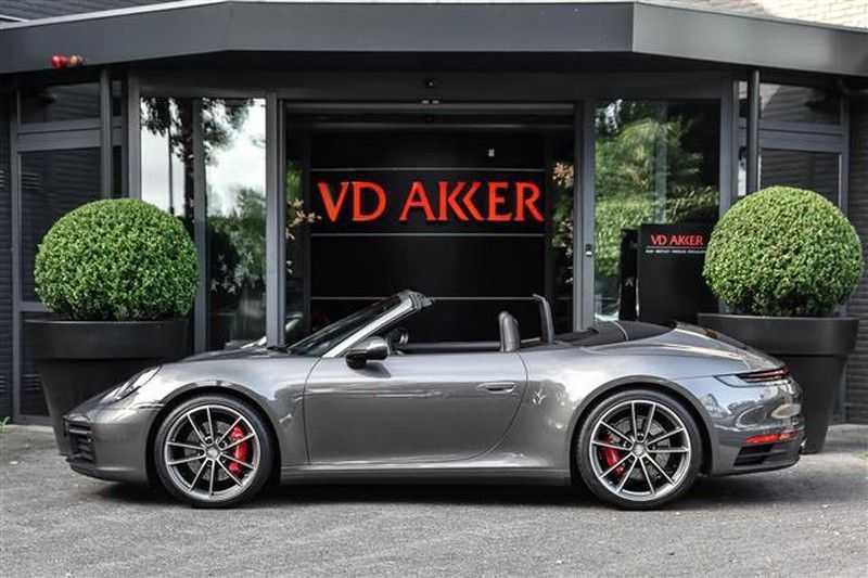 Porsche 911 S CABRIO SPORT CHRONO+SP.UITLAAT+ACC NP.203K afbeelding 14