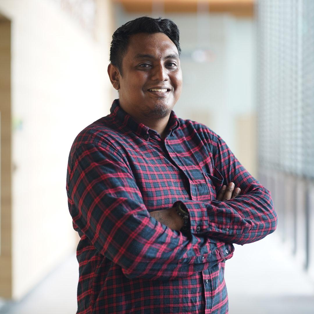 Mohamad Mazlan Bin Md Abdollah, 29, Technical Officer