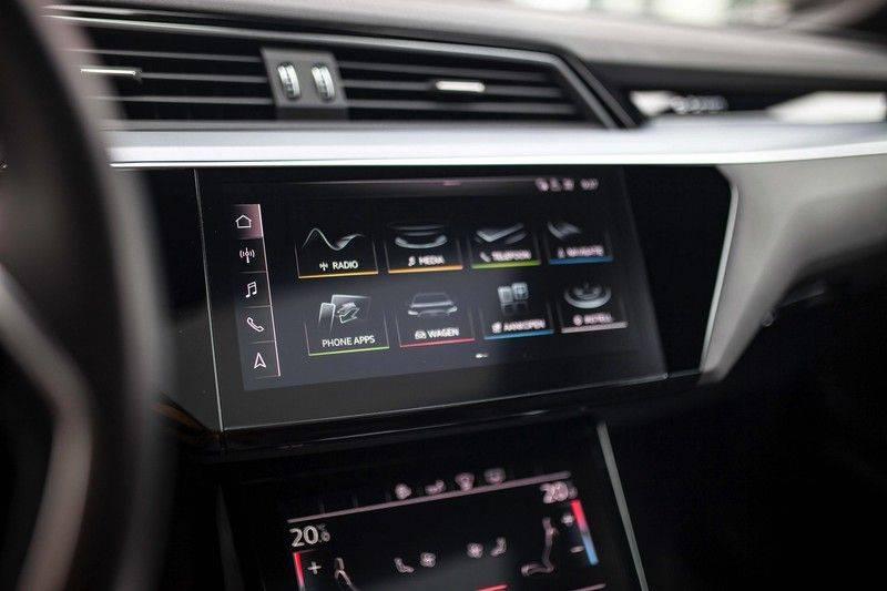Audi e-tron 55 Quattro *4% Bijtelling / Prijs Ex. BTW / B&O / Stad & Tour pakket / Pano / ACC* afbeelding 16