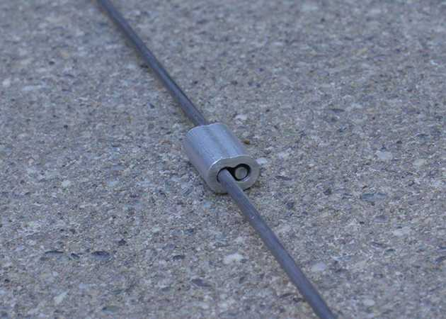 Joining Two Lengths of Music Wire With a Cable Ferrule
