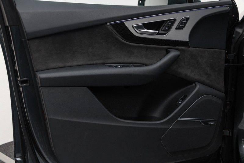 "Audi SQ7 4.0 TDI V8 Quattro 435pk 7 Pers. Panoramadak BlackOptic B&O NightVision Luchtvering ACC ValconaLeder+Memory Matrix Head-Up Navi-High Keyless Trekhaak 22"" Camera Pdc afbeelding 14"