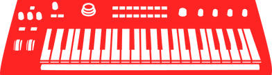 synthesizer icon
