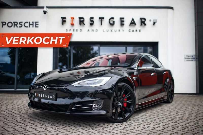 "Tesla Model S 100D Performance *Verb. Autopilot / 21"" LM / Pano* afbeelding 25"