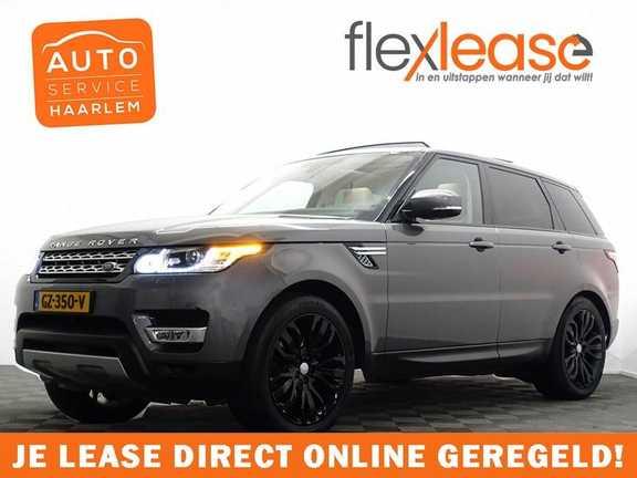 Land Rover Range Rover Sport 3.0 TDV6 259pk HSE Dynamic 7pers Autom- Panodak, Leer, Camera, Memory, Full!