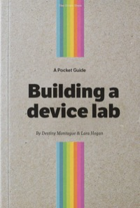 Building a Device Lab Book Cover