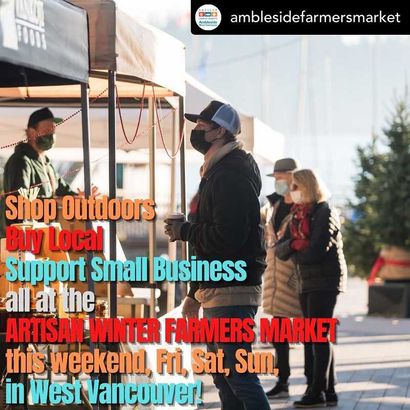 The Winter Farmers Market is a great place to find many of our clients.  Please help support local businesses this holiday season!  . Posted @withregram • @amblesidefarmersmarket Shop Outdoors Buy Local  Support Small Business all at the ARTISAN WINTER FARMERS MARKET this weekend, Fri. 2-6pm, Sat. & Sun. 12-4pm 1340 Marine Drive, West Vancouver! .  Thanks for supporting local small business and food producers! It's never been so important! .  See ArtisanMarkets.ca for maps, times and vendors.  See you there! . Photo Credit: iShot.ca . #FarmersMarket #FarmersMarkets #BCAFM #westvancouverFarmersMarkets #northvancouverFarmersMarkets #vancouverFarmersMarkets #burnabyfarmersmarket #burnaby #organicfood #veganfood #localfood #Ambleside #WestVan #WestVancouver #wholefoods #organicfood #buylocalbc #bcbuylocal #eatdrinkbc #ediblevancouver #bctastesbetter #yvrprep #eatlocal #eatdrinkbuybc #farmfood #HolidayMarkets #WinterMarkets #lonsdalequay #christmasgifts #christmasshopping