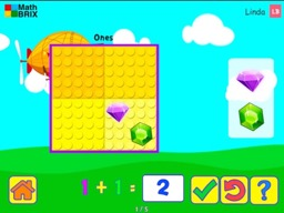 Minicomputer: Addition up to 10 Math Game