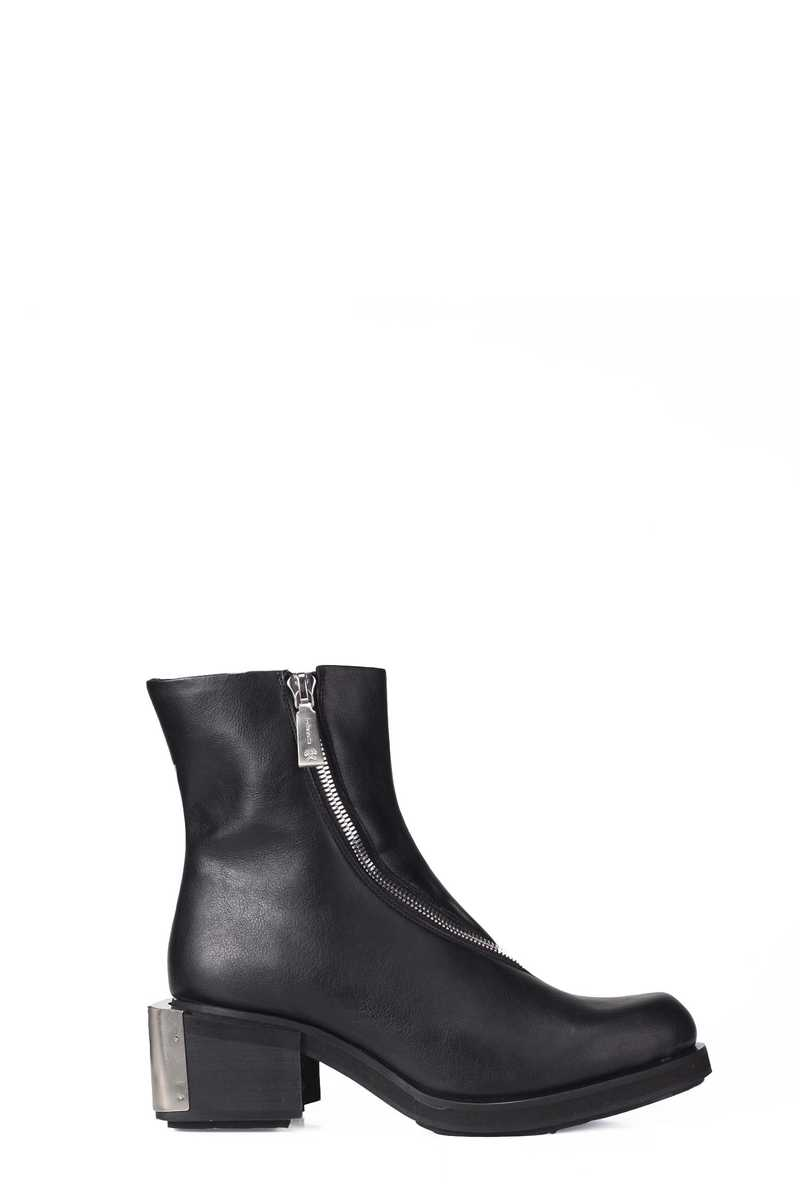 Ankle boot black pleather GmbH AW21 -1