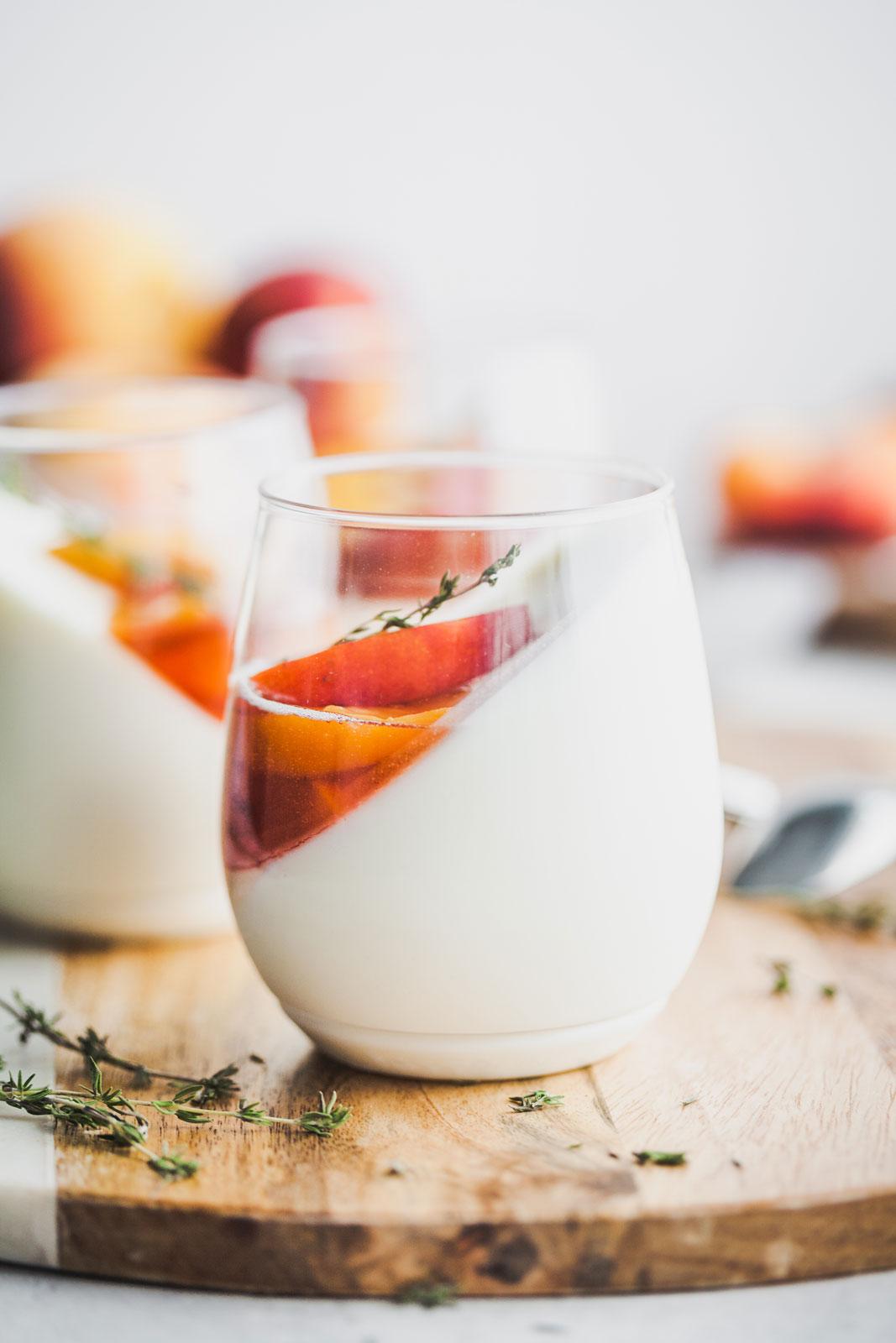 Vanilla Yoghurt Panna Cotta