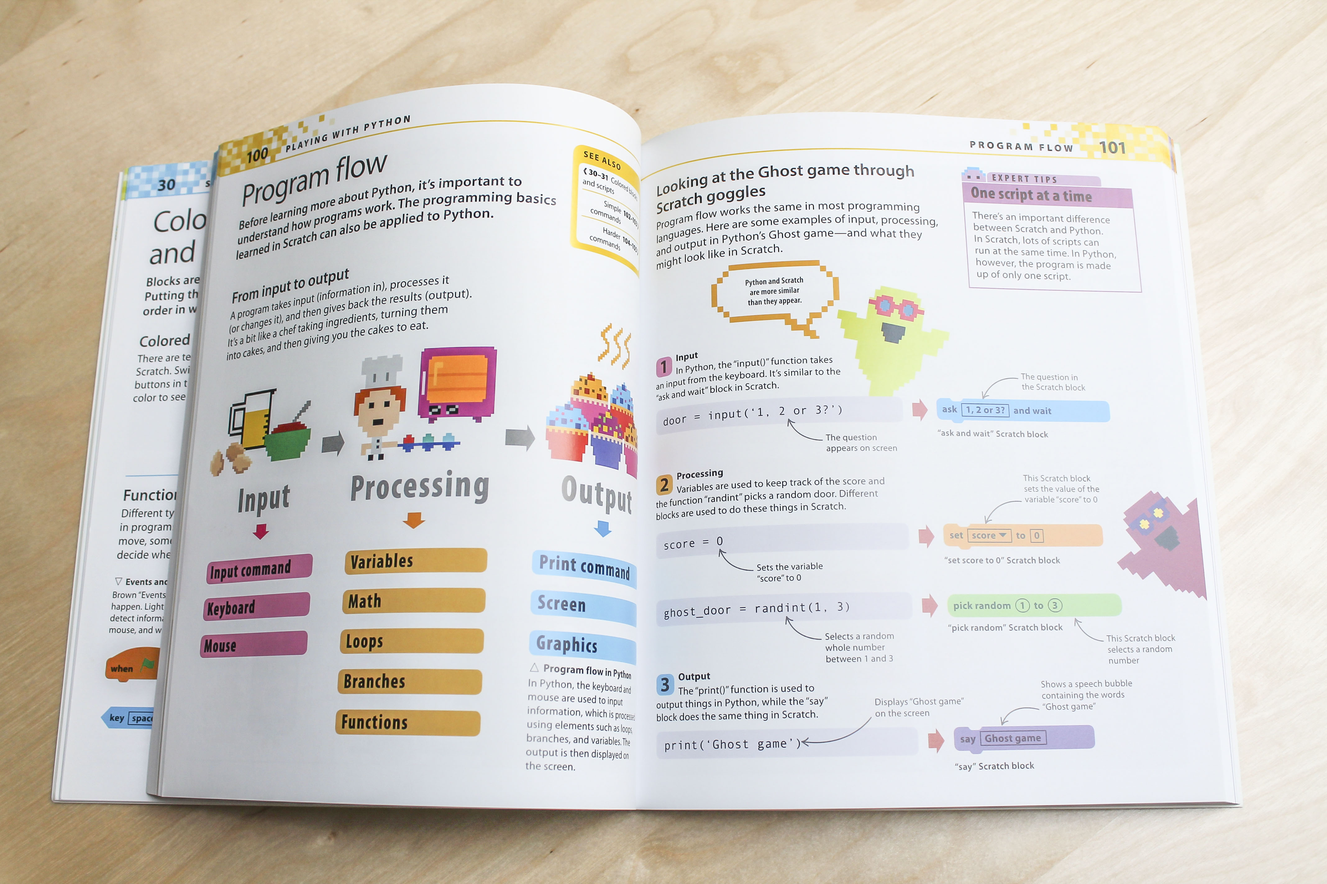 Interior picture of Help Your Kids with Computer Coding book
