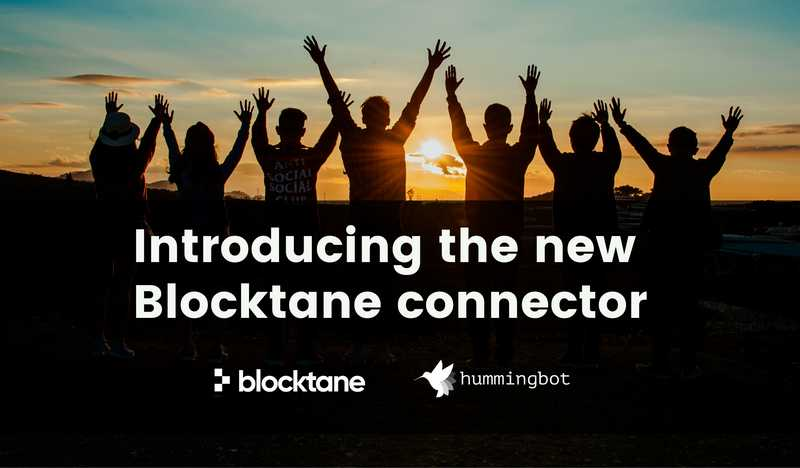 Hummingbot partners with Blocktane.io