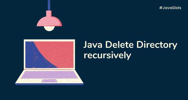 How to delete a directory recursively with all its subdirectories and files in Java