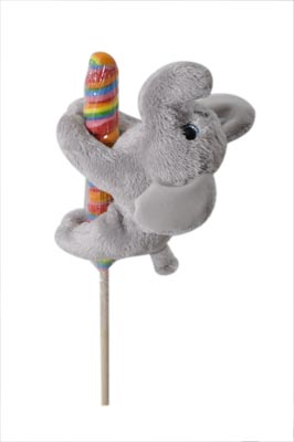 "The Petting Zoo: 7"" Lolly Plush Elephant"