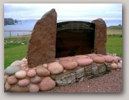 Geo-exhibit, Braewick. Copyright Robina Barton  » Click to zoom ->