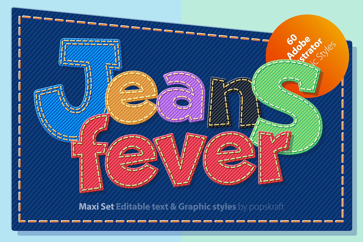 Jeans Ultimate Illustrator styles images/jeans_1_ai_styles_cover.jpg
