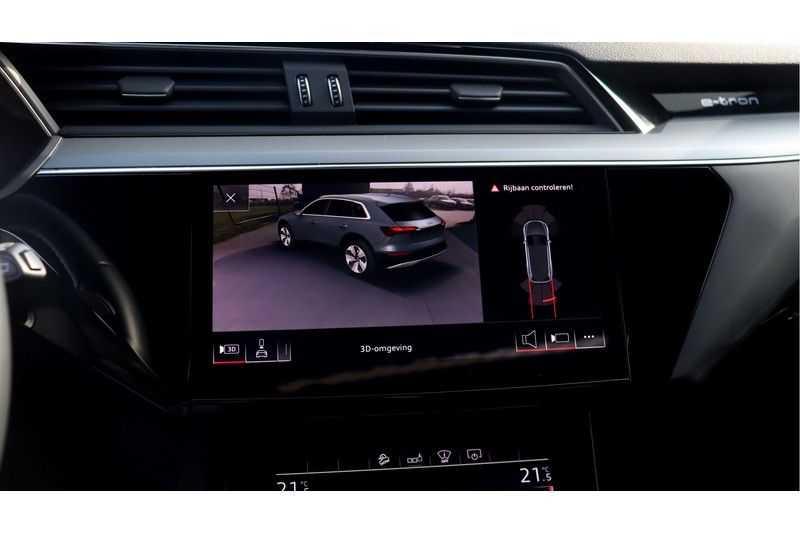 Audi e-tron 55 quattro Advanced Bang & Olufsen, Panoramadak, Head-Up Display, Soft-Close afbeelding 15