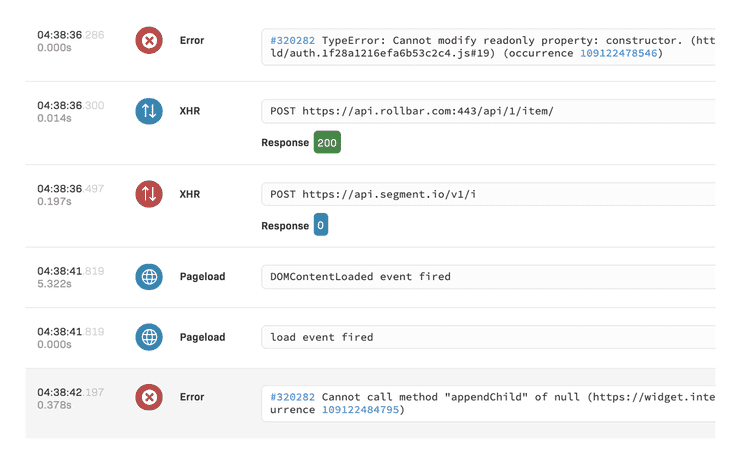 Debug client-side Angular errors faster with telemetry