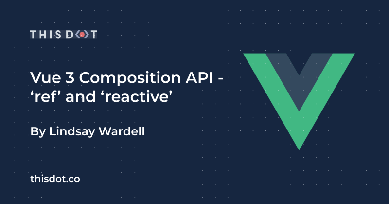 Vue 3 Composition API - 'ref' and 'reactive'