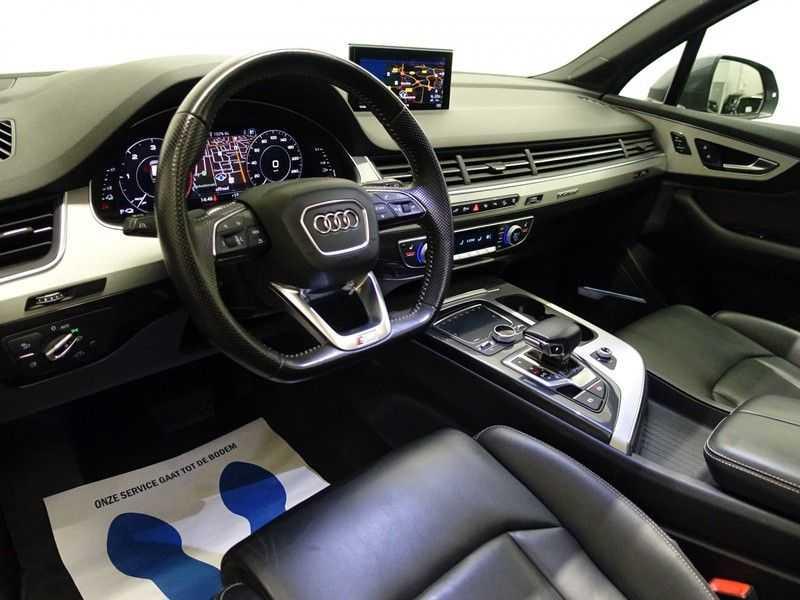 Audi Q7 3.0 TDI e-tron 374pk Quattro Sport S-line- Pano, Bose, Virtual Cockpit, Leer,  Full! afbeelding 20