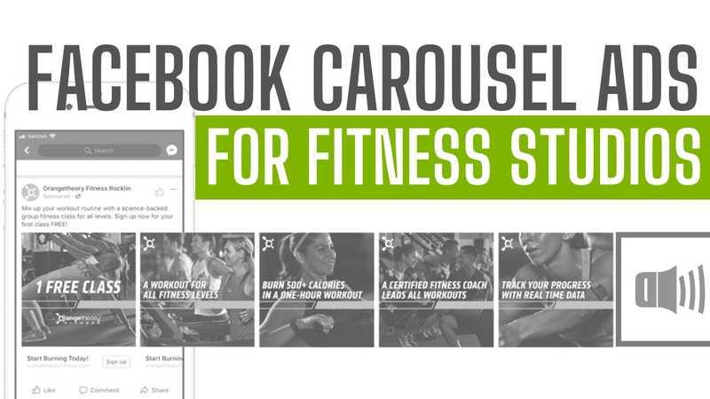 Facebook Carousel Ads for Fitness Studios Blog