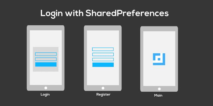 การทำระบบ Login ด้วย SharedPreferences