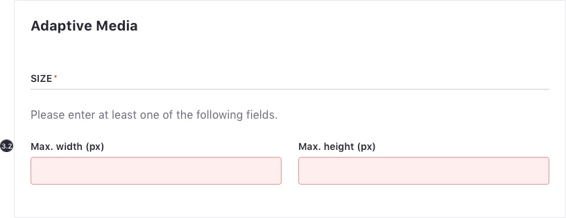 Form At Least One Field Validation