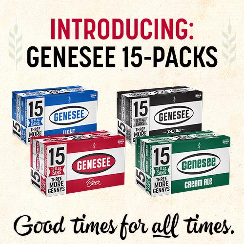 Introducing Genesee 15-Packs
