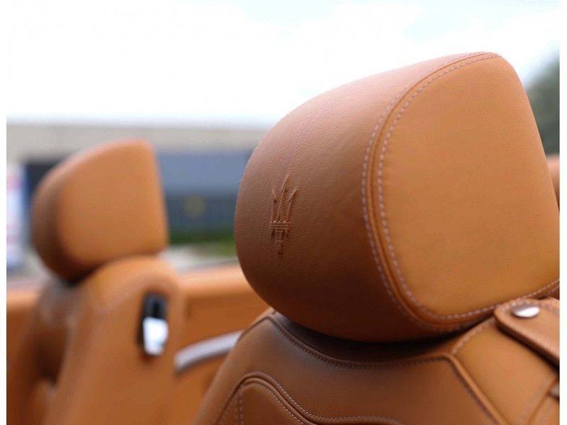 Maserati GranCabrio 4.7S *Grigio Maratta*Bose*Nieuwstaat!* afbeelding 24