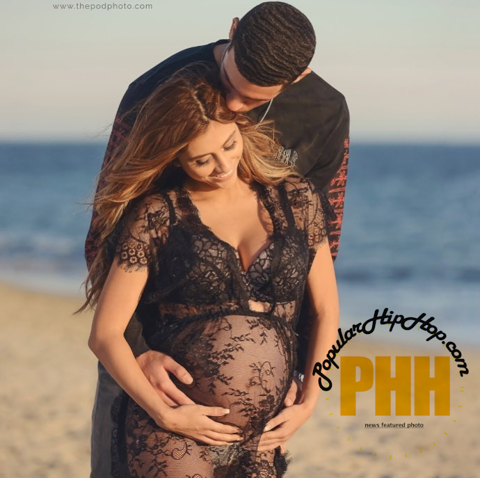 Lonzo Ball With Pregnant Girlfriend Denise Garcia, Before Relationship Ended