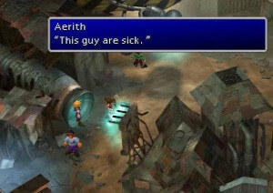 The sick person from the original Final Fantasy VII