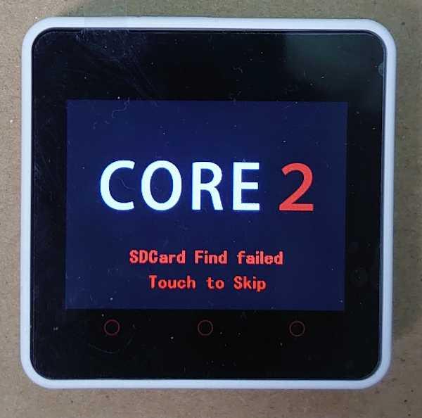 M5Stack Core2とVSCode + PlatformIOとでM5Stackプログラミングを始めてみた。 cover image