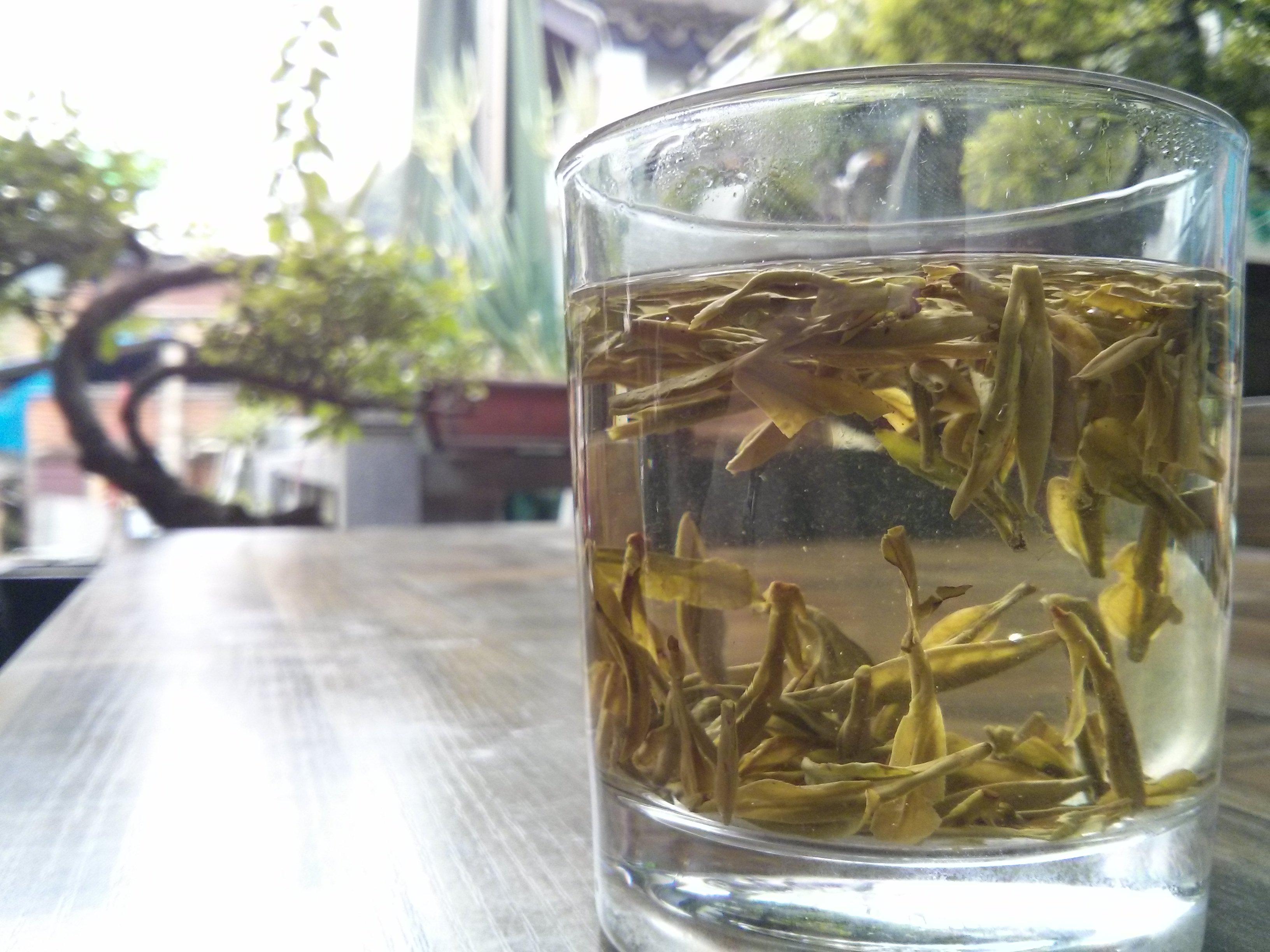 Longjing Tee im Longjing Dorf