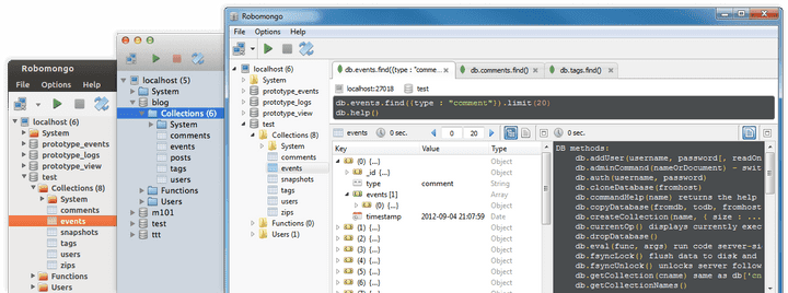 MongoDB Screenshot