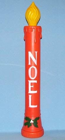 Noel Candle - Red photo