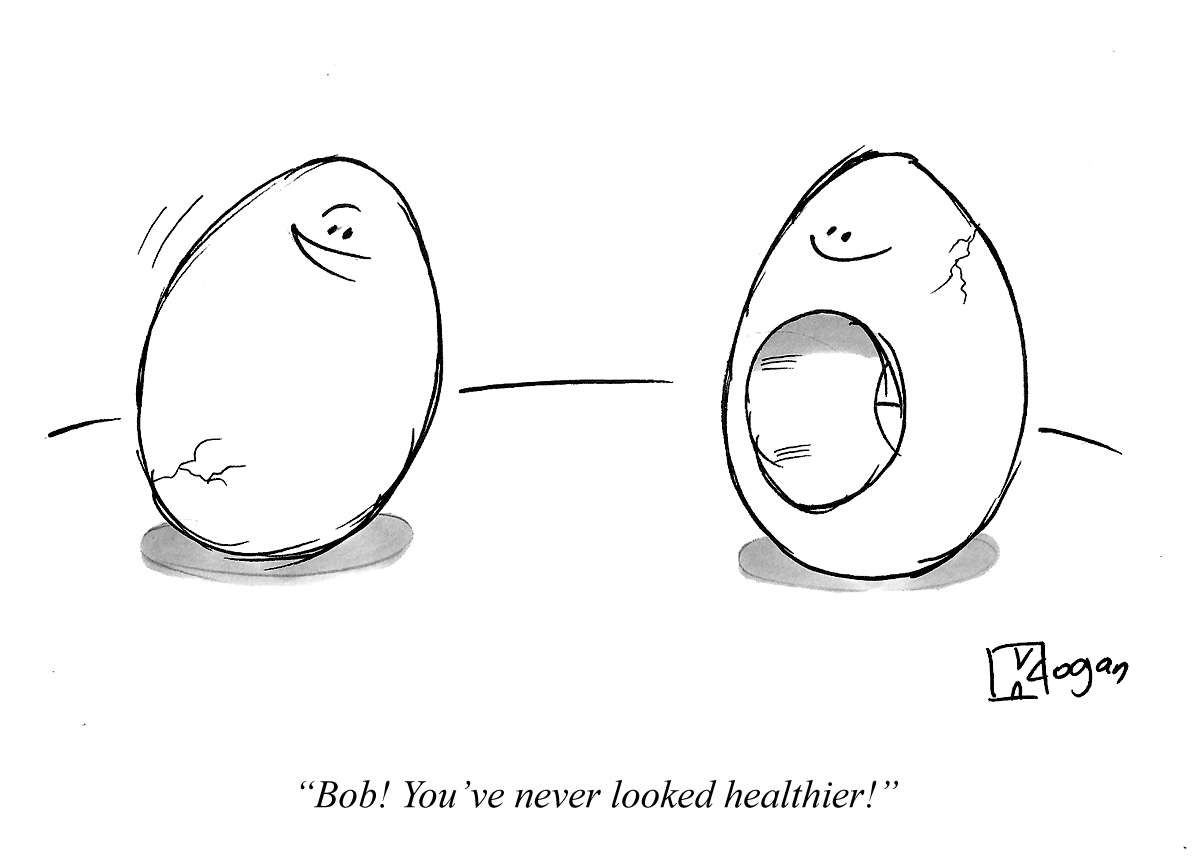 Bob! You've never looked healthier!