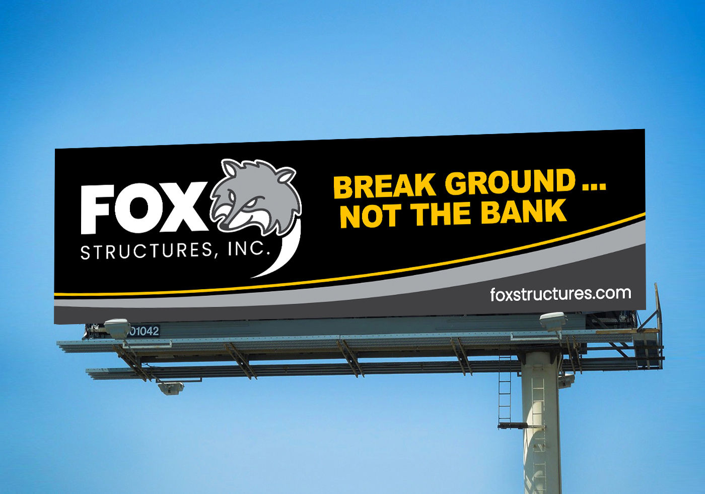 Fox Structures Billboard design by Insight Creative