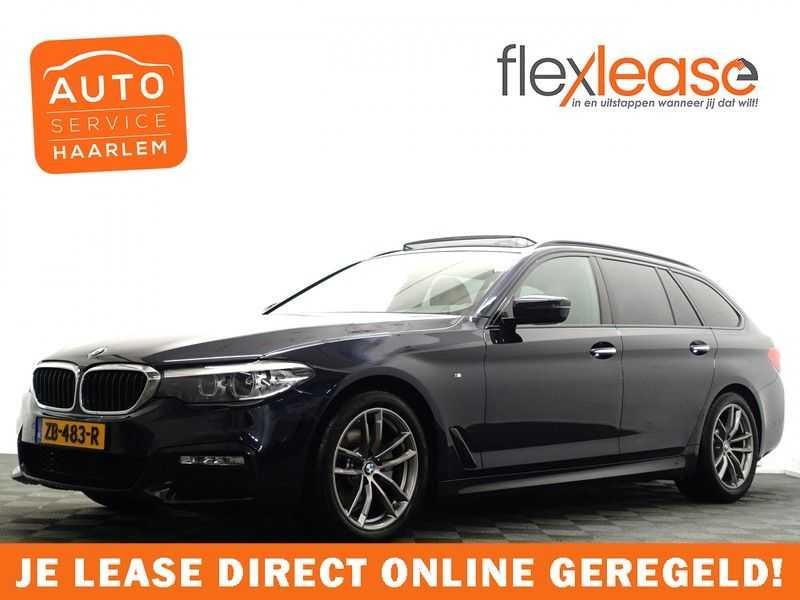 BMW 5 Serie Touring 520i High Exe 210pk M- Perfomance Powerkit- Pano, Leer, Full afbeelding 1