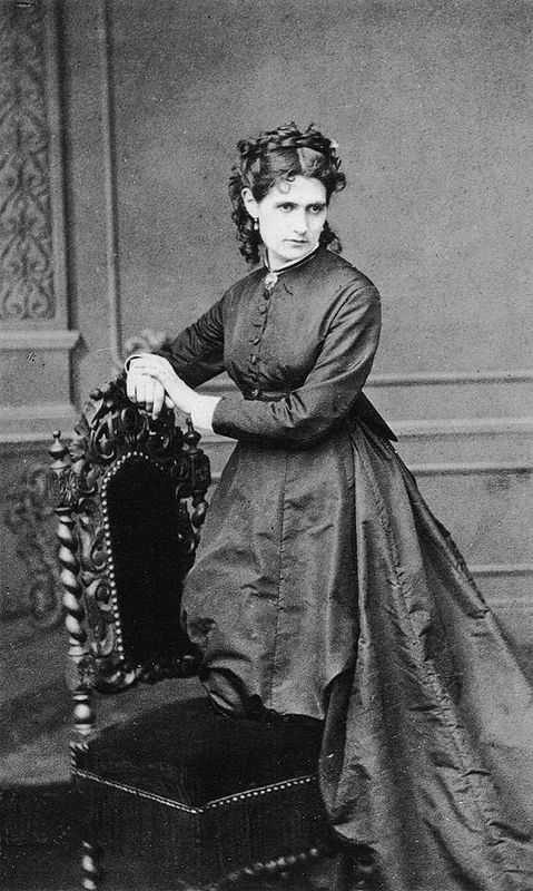 A picture of Berthe Morisot (1841-1895) taken by unknown