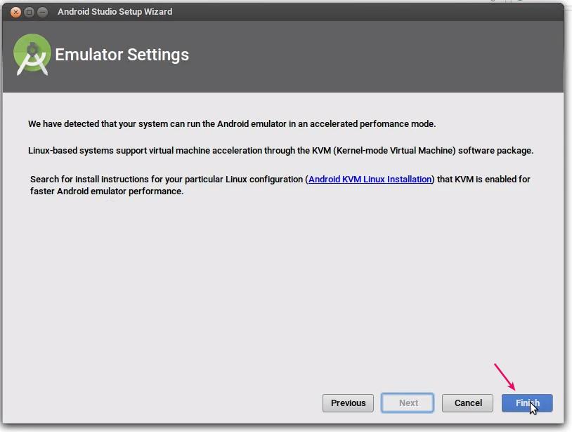 Verifikasi Pengaturan Android Studio
