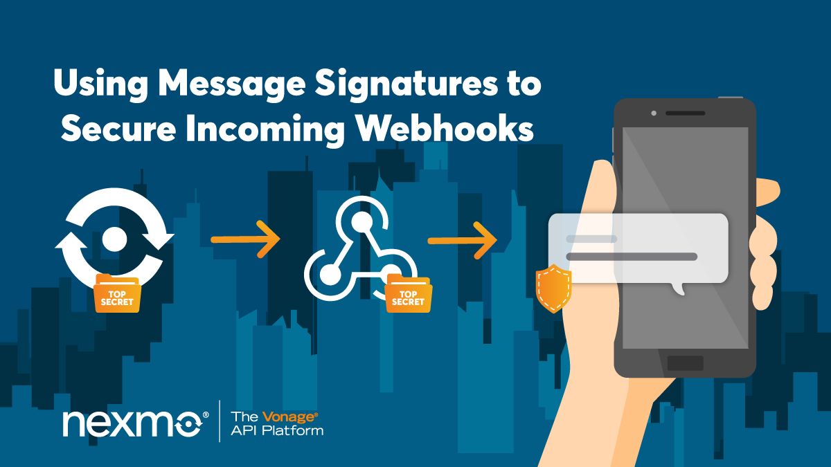 Using Message Signatures to Ensure Secure Incoming Webhooks