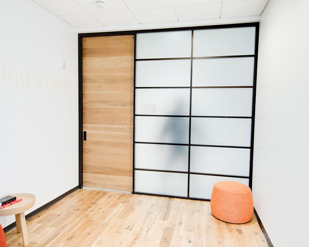 Rustic Sliding Doors and Shoji Paneling Frames, Inner Shot