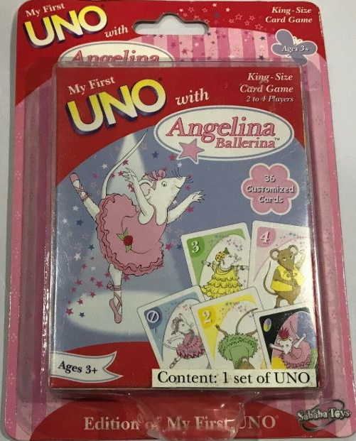 Angelina Ballerina My First Uno