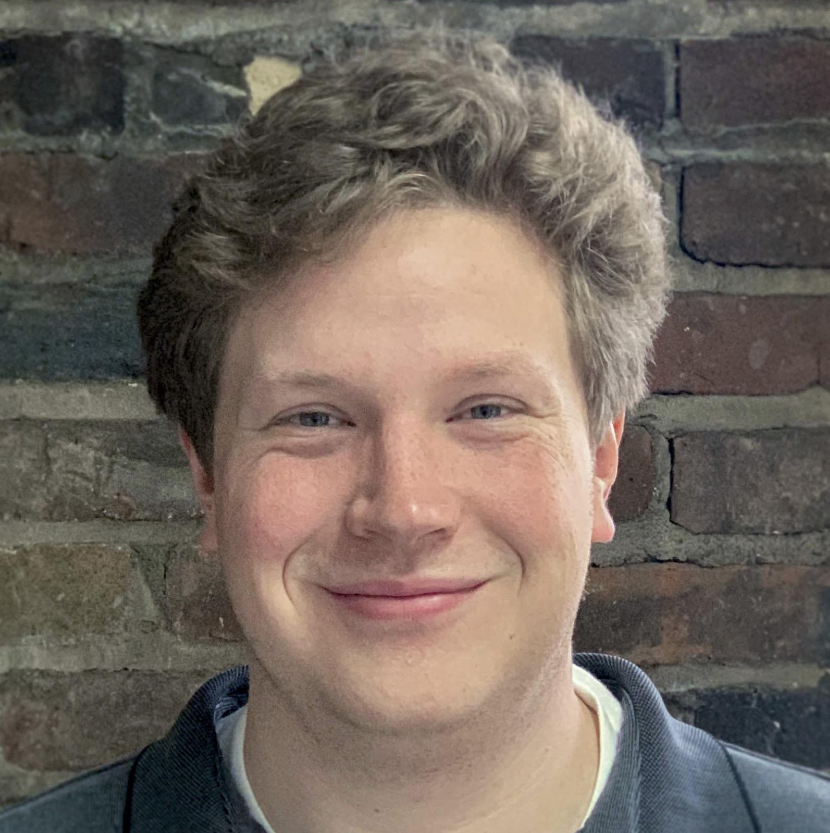 Awesome Inc team member, Samuel Hartman