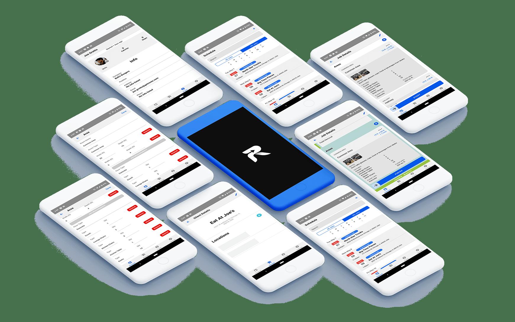 Route Platform Screens Gallery
